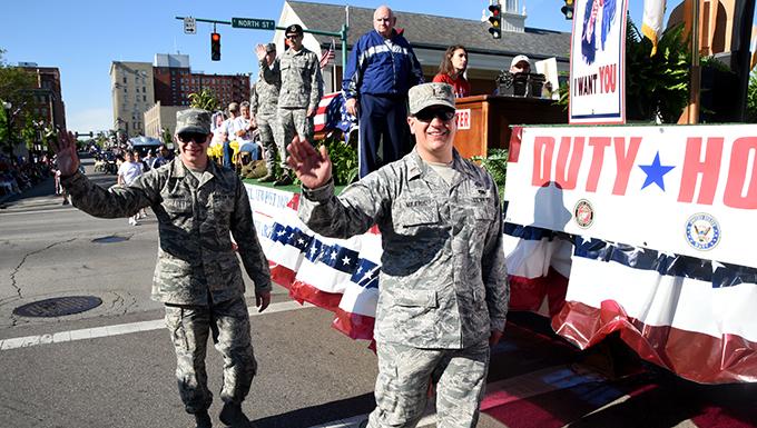 178th Members participate in Springfield Memorial Day Parade