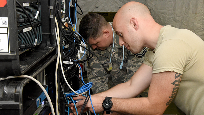 269th provides communications support to Air Force Marathon