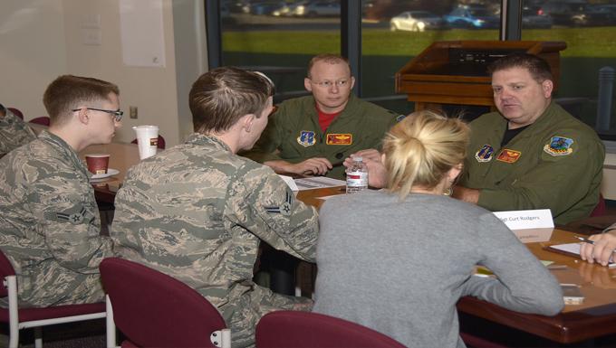 Unit members participate in reverse mentoring