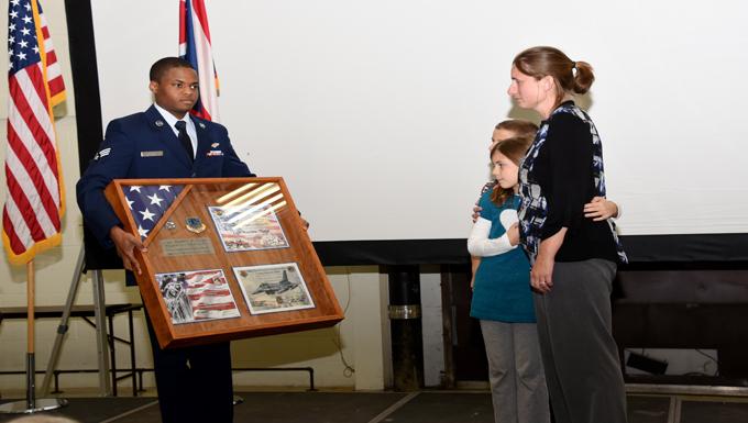 Capt. Matthew Thorpe honored at memorial service