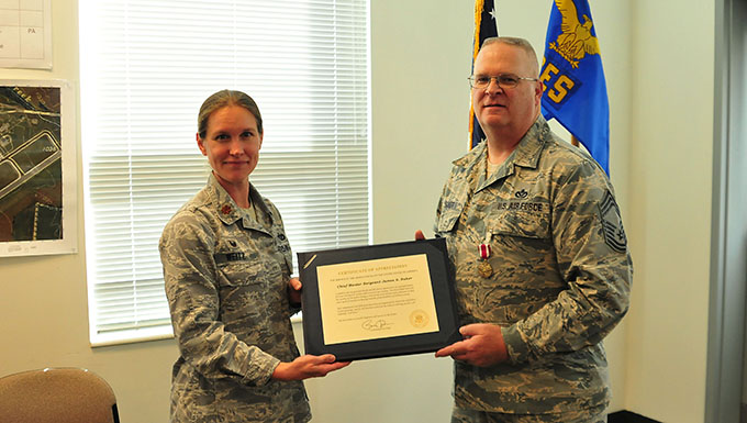 178th CES chief honored at retirement ceremony