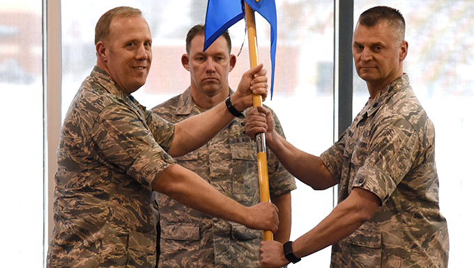 178th Mission Support Group welcomes new commander