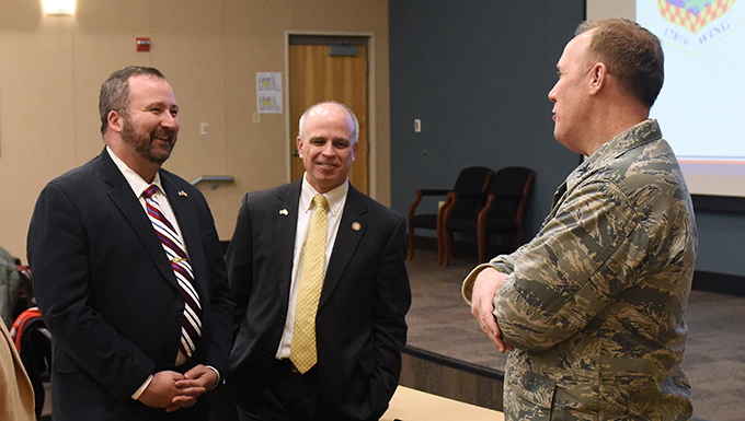 Ohio legislators visit 178th Wing