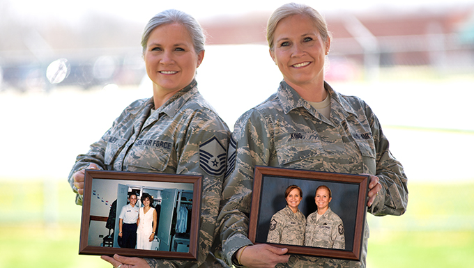 Twins serve together for nearly 20 years at 178th Wing