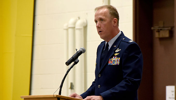 178th Wing welcomes incoming commander Col. Gregg Hesterman
